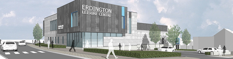 New Erdington Leisure Centre Coming Soon