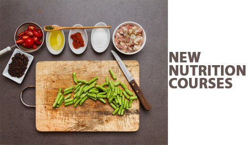 New Nutrition Courses